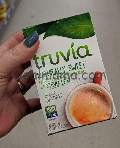 Truvia Stevia Sweetener only 0.74 at Walmart