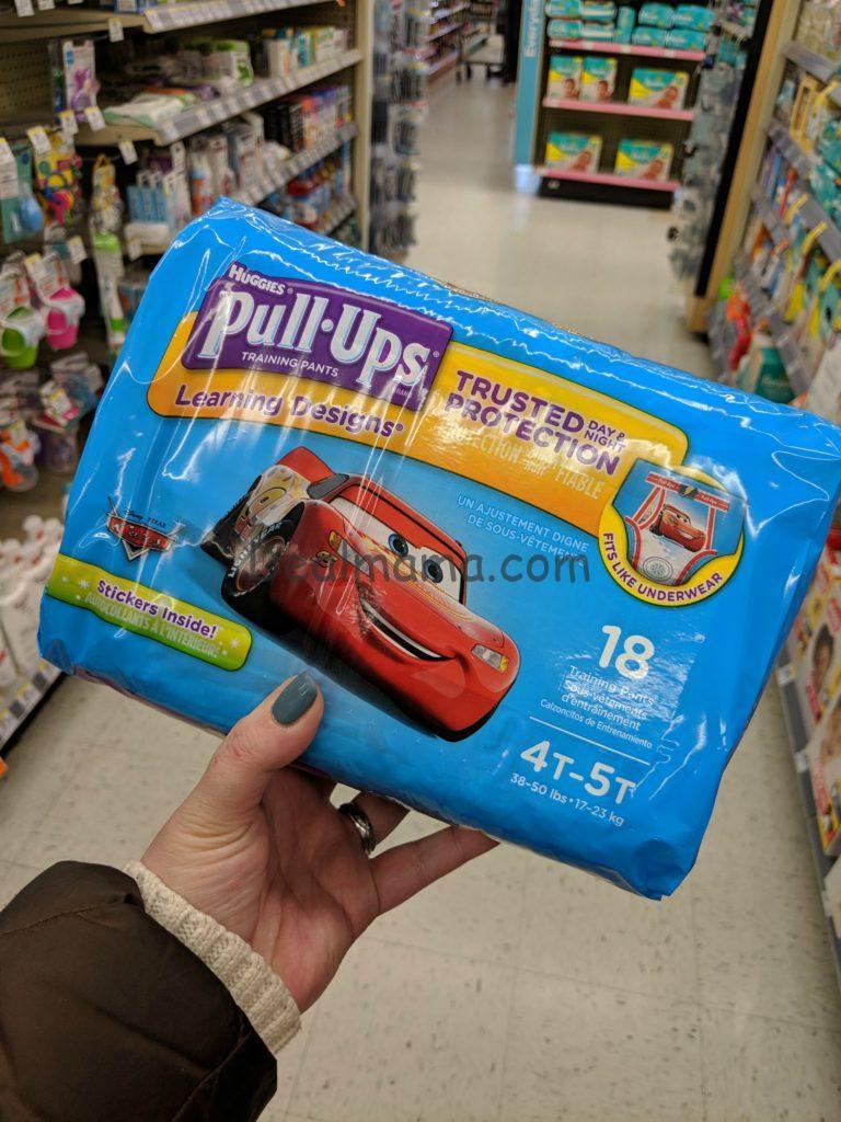 Huggies Pull-Ups Jumbo Pack Only 4 99 at CVS