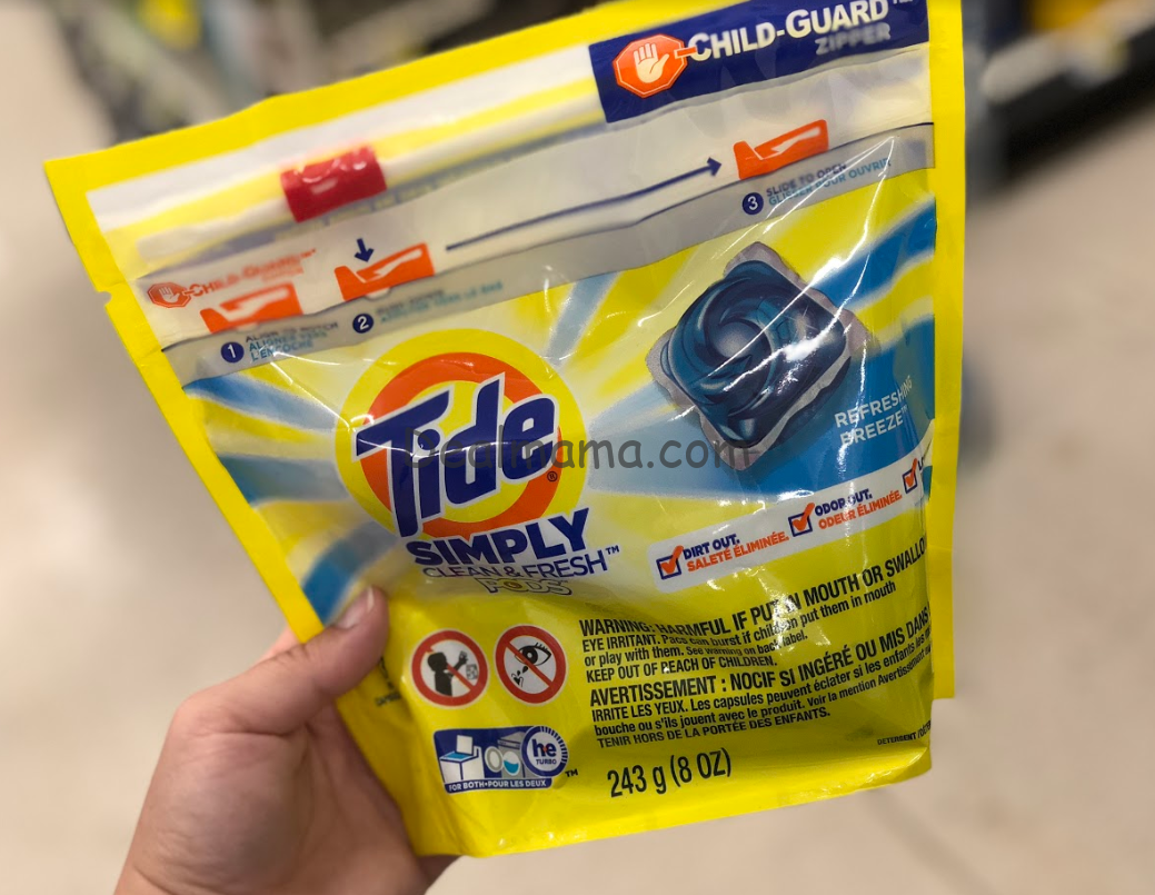 FREE Tide Simply Laundry Detergent At Kroger