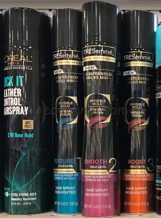 Tresemme Micro Mist hair Sprays Only 1.50 at CVS