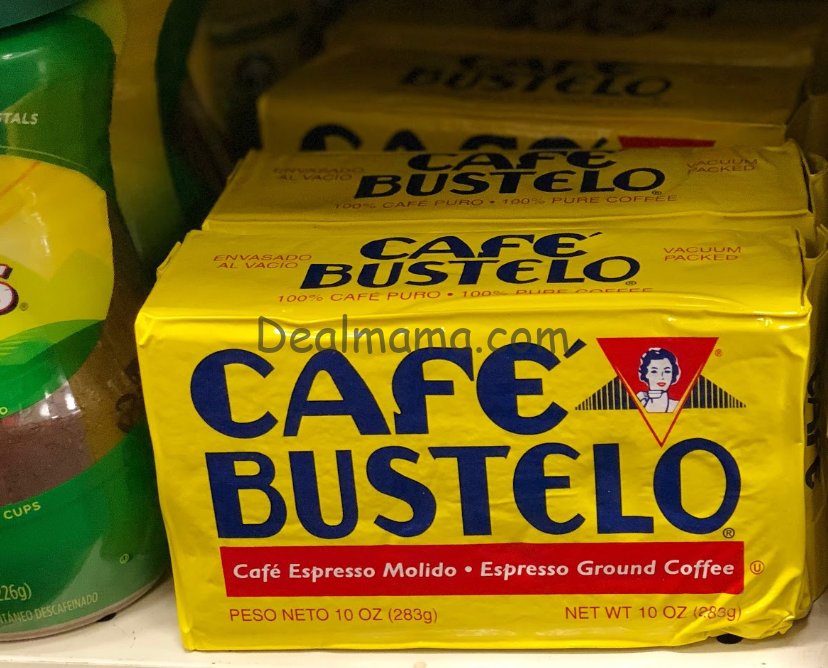 Café Bustelo only 1.99 at Walgreens!