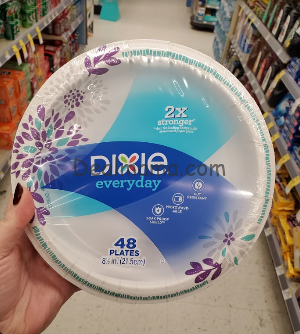 Dixie Plates or Bowls only 1.62 at Walgreens