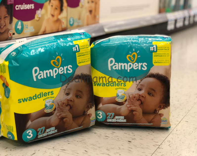 Pampers Diapers/Tide Cash Card Deal at CVS!
