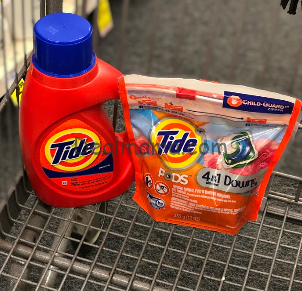 Tide Liquid Laundry Detergent or PODS Only 2.99 Shipped on Walgreens.com