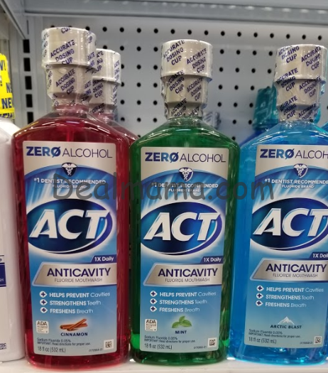 Act Mouthwash just 2.99 at Walgreens