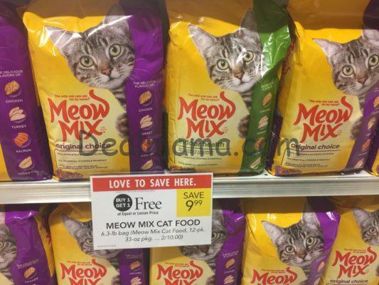 Meow Mix Dry Cat Food 3 99 per Bag at Publix!