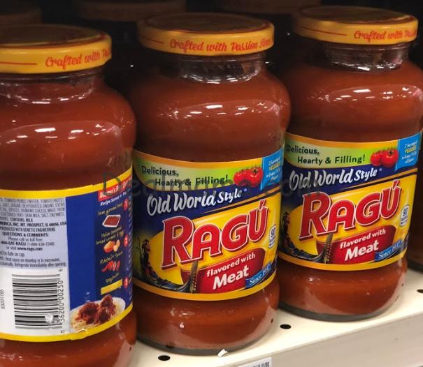 Ragu Pasta Sauce only 0.94 at Target