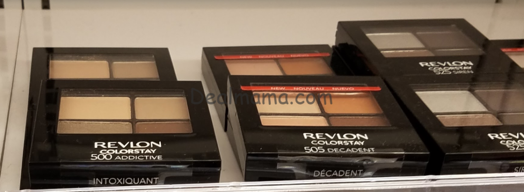 Revlon ColorStay Eye Palettes Only 0.50 at Walgreens
