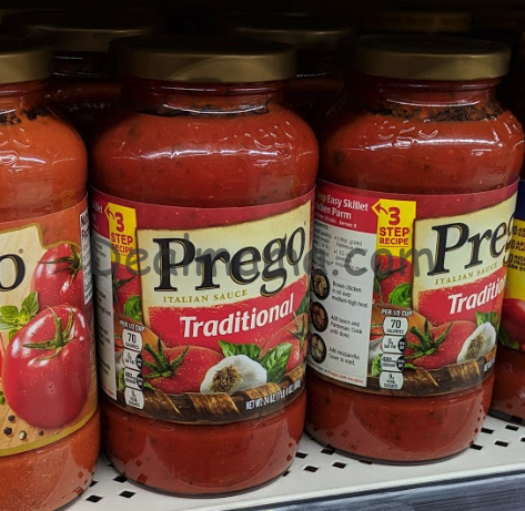 Prego Sauces Only 1.63 at CVS