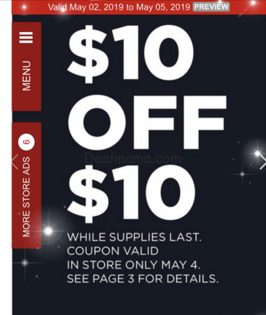 JCPENNEY 10 OFF 10 COUPON GIVEAWAY MAY 2019