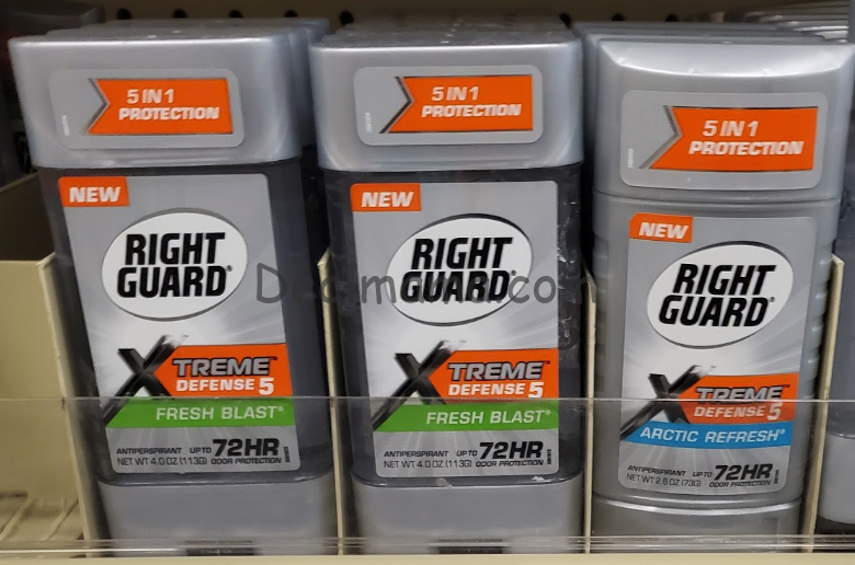 Right Guard Deodorant just 2.00 at Walgreens