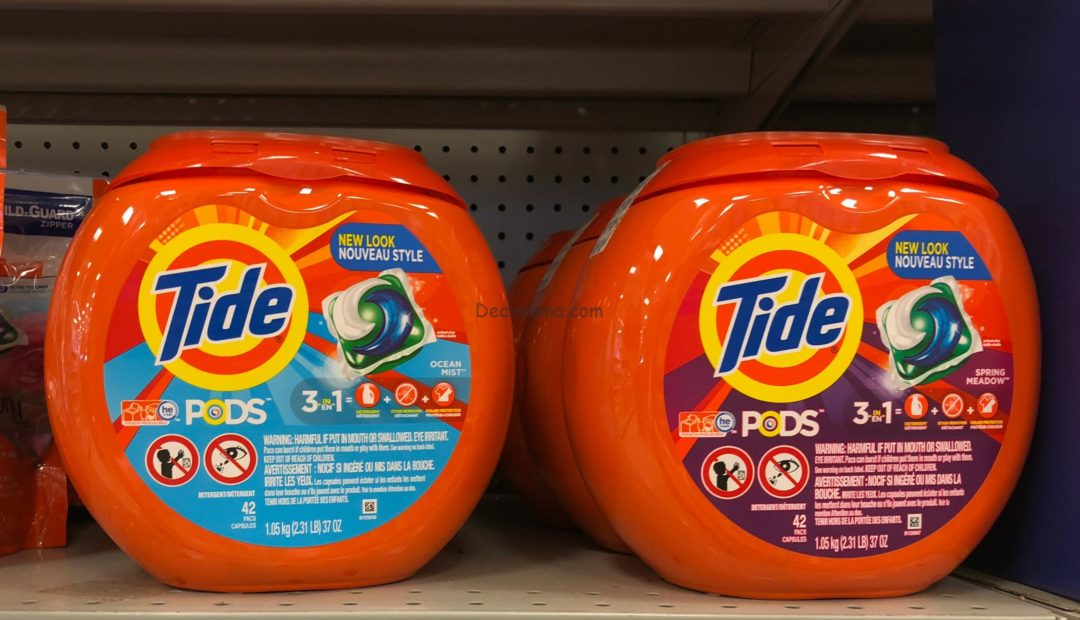 Tide Liquid Detergent, Tide Pods & Downy Conditioner only 4.99 Each at Target