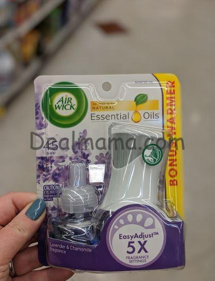 Air Wick Scented Oil Starter Kit only 0.77 at Kroger!