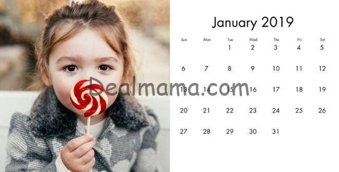 walgreens desk calendar