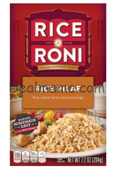 Rice-A-Roni only 0.59 each at Walmart!