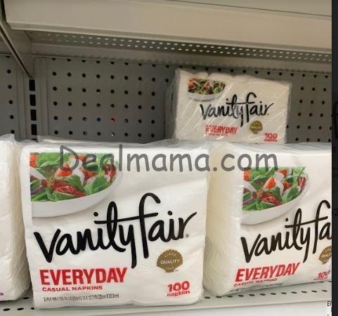 Vanity Fair Napkins only 0.99 at Kroger!