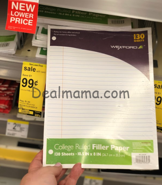 Awesome Deals on Wexford School Supplies at Walgreens