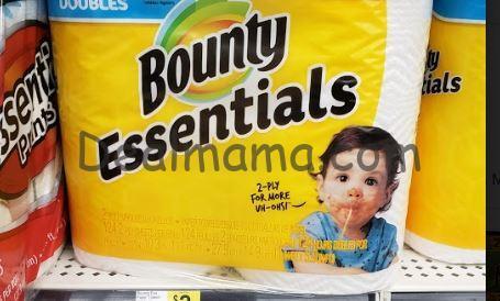 Bounty Essentials & Charmin Bath Tissue Only 2.99 at Walgreens