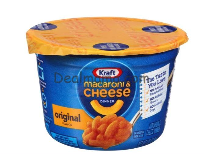 Kraft Macaroni & Cheese Cup only 0.75 at Kroger!