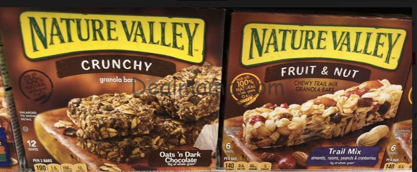 Nature Valley Granola Bars Only 1.49 at Rite Aid