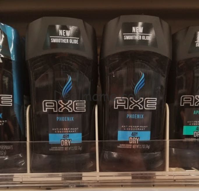 Axe Body Spray & Deodorant only 0.91 at Walgreens!
