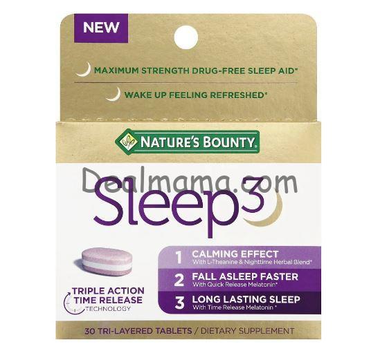 image regarding Nature's Bounty Coupon Printable $5 identify Natures Bounty Slumber3 Basically 3.99 at CVS