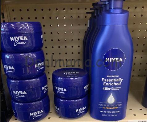 Nivea lotion only 2.00 at CVS