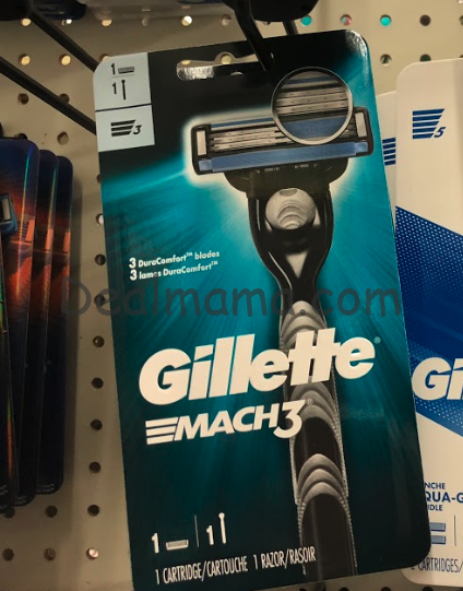 FREE Gillette Mach3 Razor at CVS!