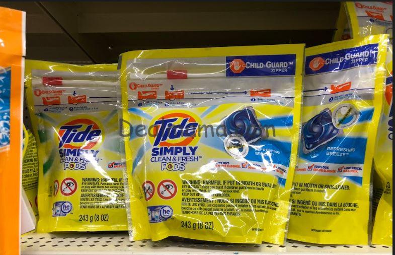 Tide Simply Pods or Liquid Detergent only 1.95 at Dollar General!