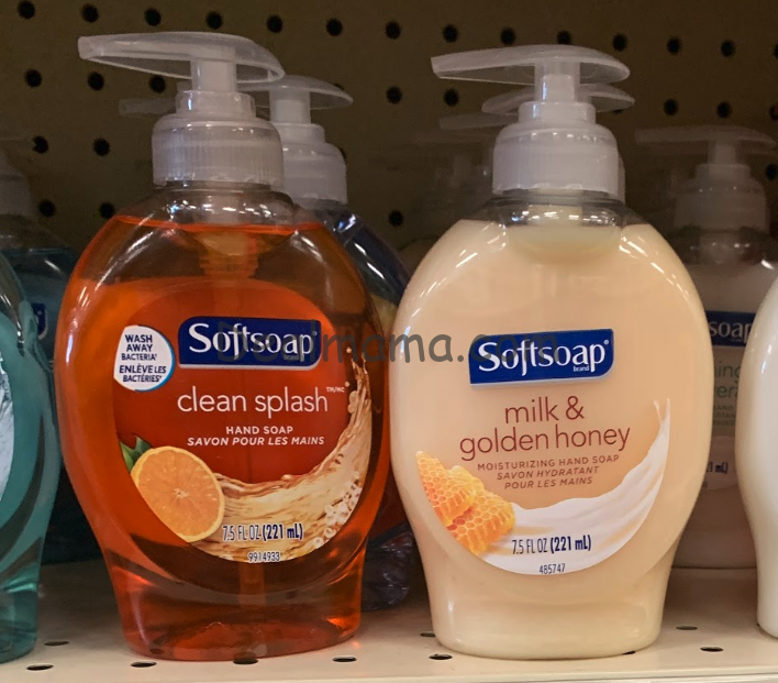 Softsoap Hand Soap only 1.15 each at Rite Aid!