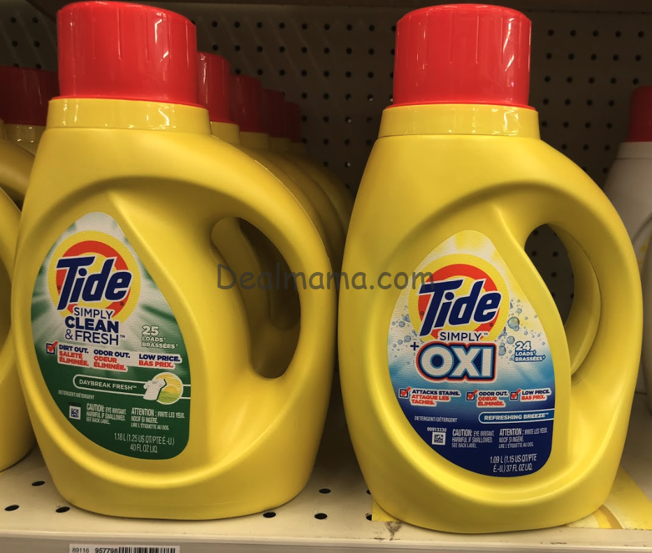 Tide Simply only 2.44 at CVS