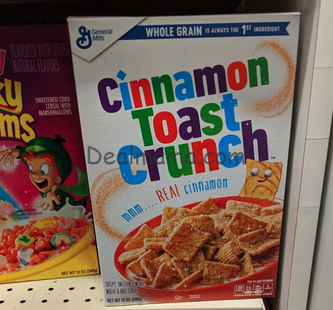 General Mills Cereal only 1.00 at Rite Aid!