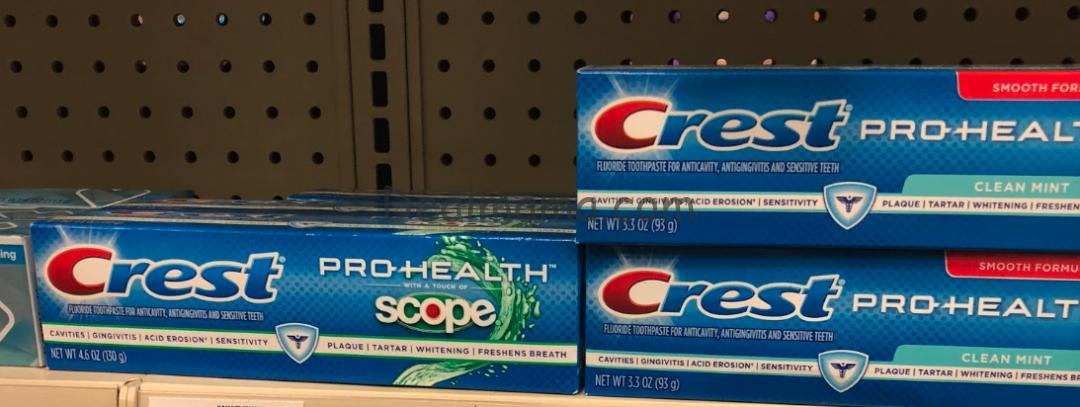 FREE Crest Toothpaste at Kroger!
