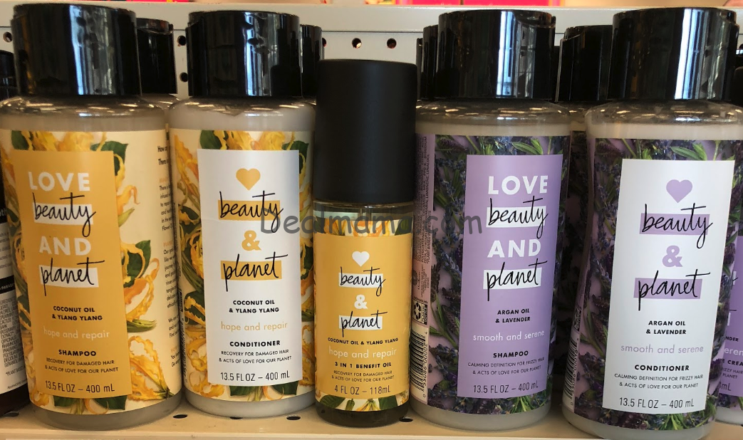 Love Beauty & Planet Products only 1.49 Each at Rite Aid!