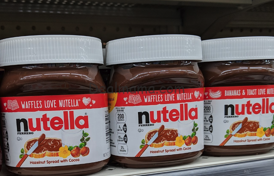 Nutella Hazelnut Spread only 1.49 at Walgreens!