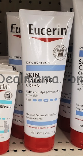 MONEYMAKER Eucerin Skin Calming Cream at CVS!