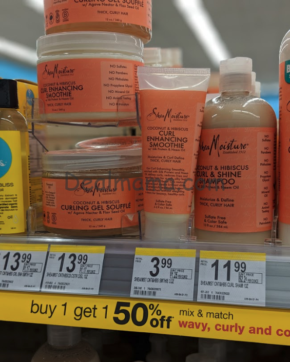 SheaMoisture Hair Products as low as 0.05 Each At Walgreens! (In-store OR Online)