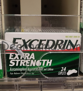 Excedrin only 2.09 each at Walgreens