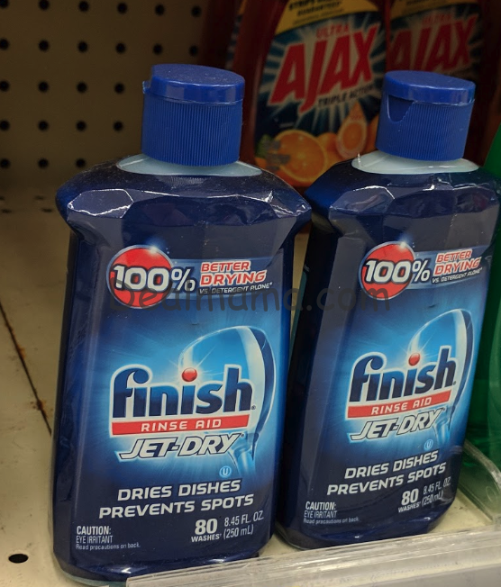 Finish Jet-Dry Rinse Aid only 1.72 each at Rite Aid!