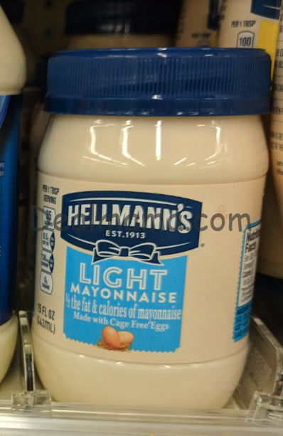 Hellmann's Light Mayonnaise only 1.46 only Walgreens!