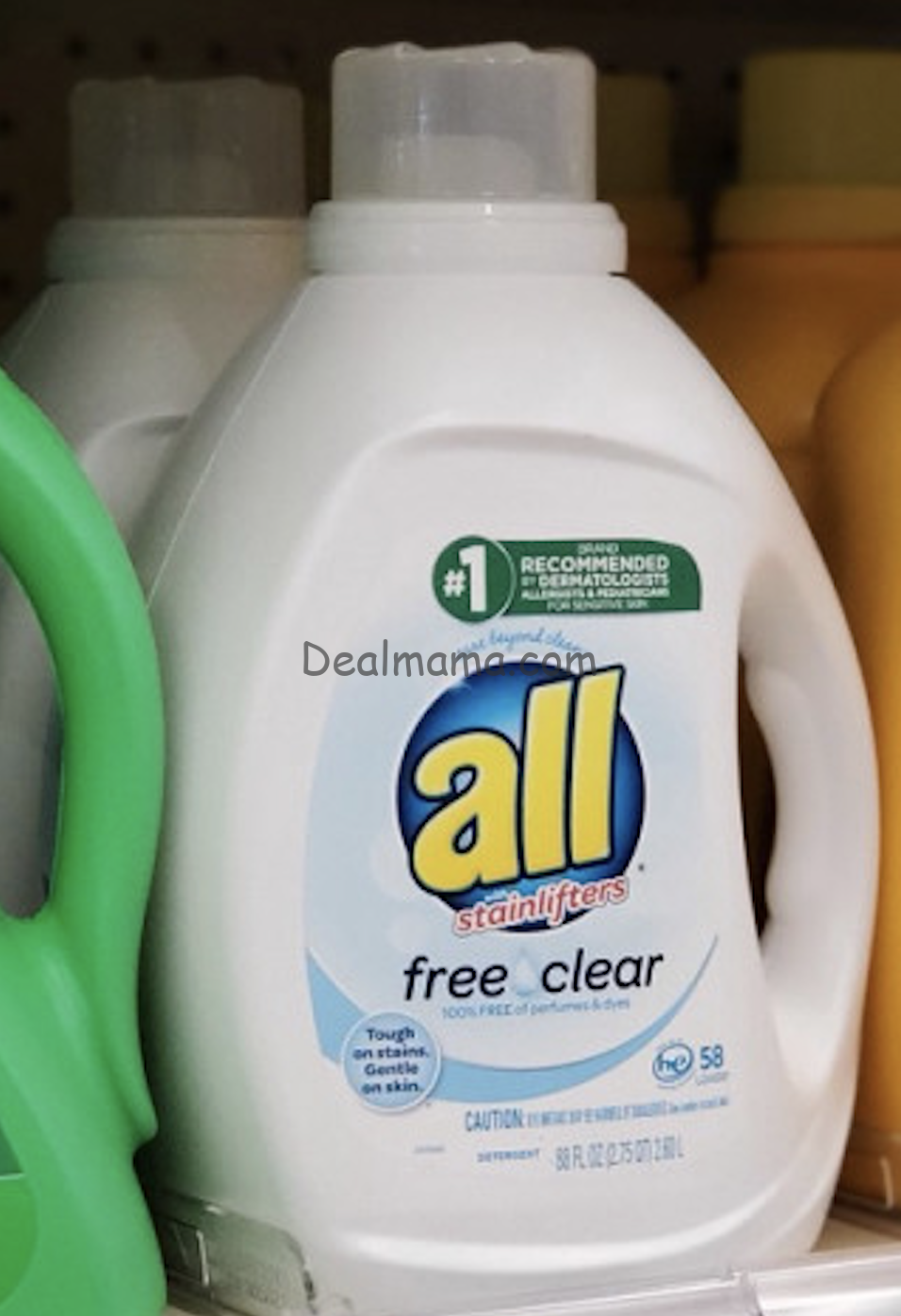 All Laundry Detergent 88 oz Bottle only 2.99 at Walgreens!