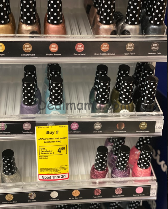 Pop-arazzi Nail Polish Only 0.50 Each at CVS