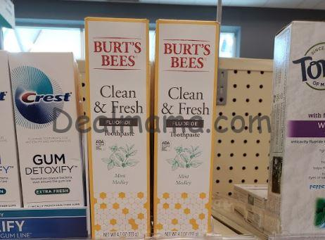 Burt's Bees Adult Toothpaste Only 0.99 at CVS