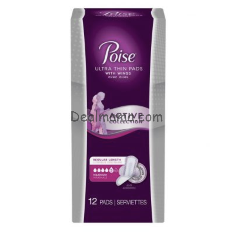 MONEYMAKER on Poise Active Pads at Walmart!
