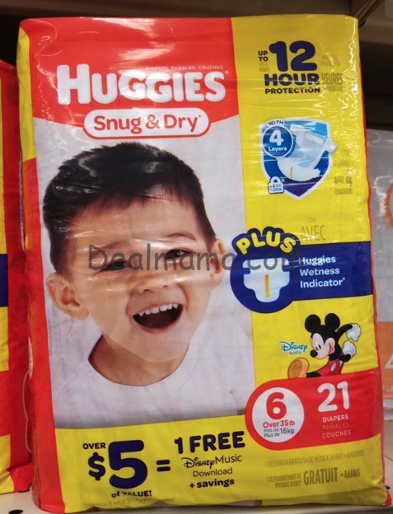 FREE Huggies Snug & Dry Jumbo Packs at CVS!!!