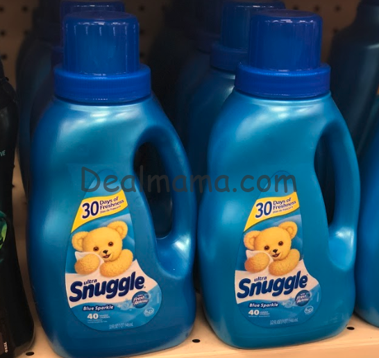 Snuggle Fabric Softener Only 1.99 at Rite Aid