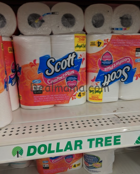 Scott ComfortPlus Bath Tissue only 1.00 (NO COUPONS NEEDED)