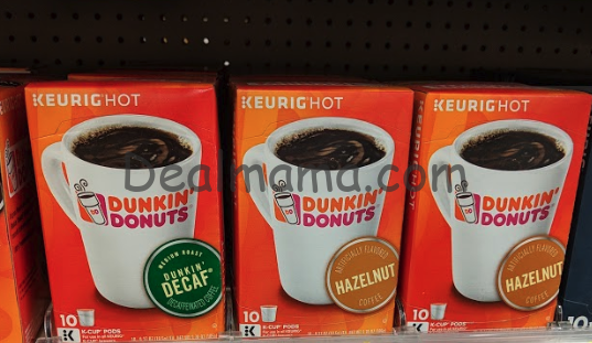 Dunkin' Donuts Original Coffee Pods only 2.99 at Rite Aid!