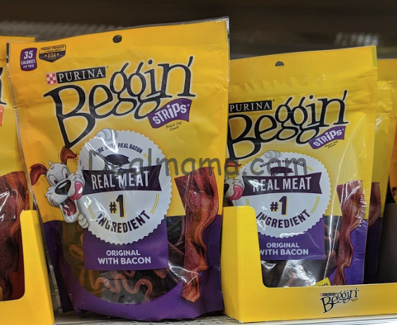 Purina Beggin' Strips only 0.67 each at Dollar General