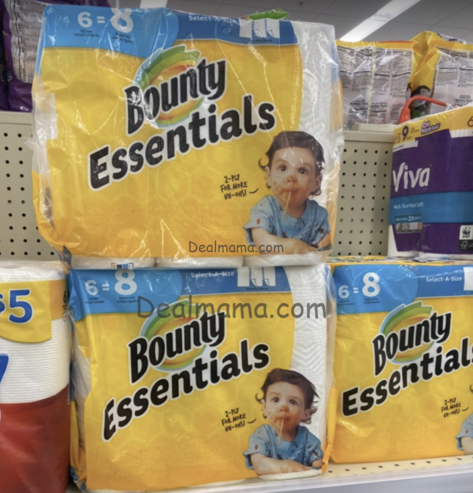 Bounty & Charmin only 3.24 at Walgreens